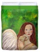 Rachelle Little Lamb The Return To Innocence Duvet Cover