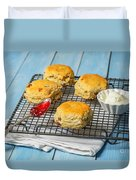 Rack Of Scones Duvet Cover