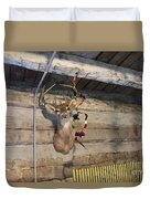 Rack On The Wall Duvet Cover