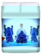 Radiant Buddhas Duvet Cover