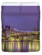 Radiant City Duvet Cover by Evelina Kremsdorf