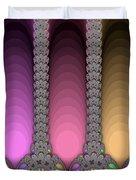 Radiant Columns Duvet Cover