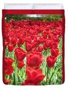 Radiant Red Duvet Cover