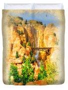 Radiator Springs Waterfall Duvet Cover