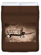 Radio Flyer Trav-ler Wagon Duvet Cover