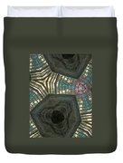 Rafters Abstract Duvet Cover