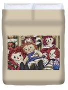 Raggedy Ann And Andy Duvet Cover