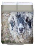 Raggedy Goat Duvet Cover