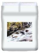 Raging River Duvet Cover