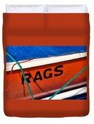 Rags Duvet Cover