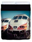 Rail Runner Twins Duvet Cover