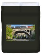 Railroad Bridges Duvet Cover