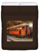 Railroad Gary Flyer Photo Art 02 Duvet Cover