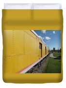 Railroad Train Duvet Cover