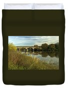 Railway Viaduct At Waterside - Stapenhill Duvet Cover