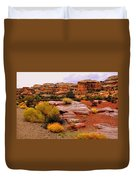 Rain At The Needles District 2 Duvet Cover