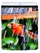 Rain Bird Duvet Cover
