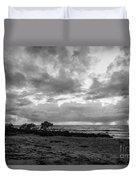 Rain Clouds At Sea 2 Duvet Cover
