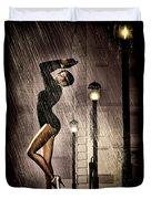 Rain Dance Duvet Cover