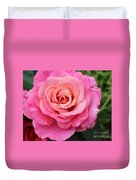 Rain Drenched Rose Duvet Cover