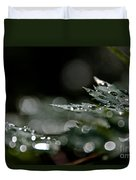 Rain Drop Bokeh Duvet Cover