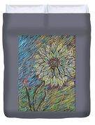 Rain Flower Duvet Cover