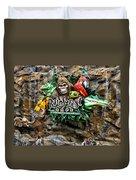 Rain Forest Cafe Signage Walt Disney World Duvet Cover