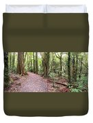 Rain Forest Duvet Cover by Les Cunliffe