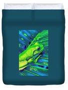 Rain Forest Tree Frog Duvet Cover