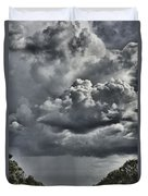 Rain In The Distance Duvet Cover
