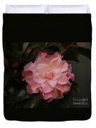 Rain Kissed Camellia Duvet Cover