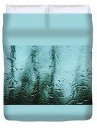 Rain On Bare Trees Duvet Cover
