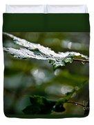 Rain Sparkles Duvet Cover