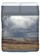 Approaching Storm The Painted Desert Arizona Duvet Cover