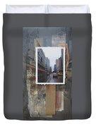 Rain Wisconcin Ave Tall View Duvet Cover