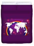 Rainbow's World 20 Duvet Cover