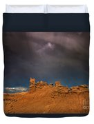 Rainbow And Sandstone Formations Fantasy Canyon Utah Duvet Cover