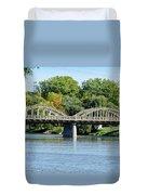 Rainbow Arch Bridge Duvet Cover