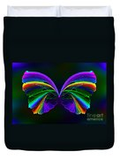 Rainbow Butterfly Duvet Cover