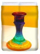 Rainbow Candlestick Duvet Cover
