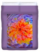 Rainbow Coronal Duvet Cover