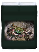 Rainbow Crab Duvet Cover