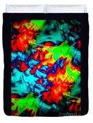 Rainbow Dye Duvet Cover