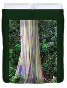 Rainbow Eucalyptus 3 Duvet Cover