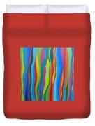 Rainbow Eucalyptus Duvet Cover