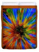 Rainbow Exuberance Duvet Cover