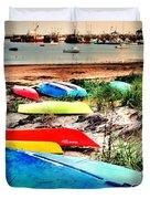 Rainbow Fleet Duvet Cover