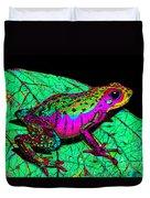 Rainbow Frog 3 Duvet Cover