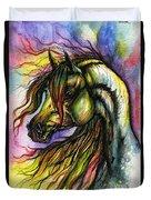 Rainbow Horse 2 Duvet Cover
