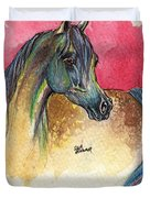 Rainbow Horse 2013 11 17 Duvet Cover